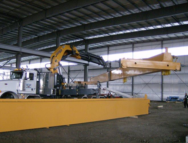 Norsteel Buildings Ltd Gantry Installation Phoenix